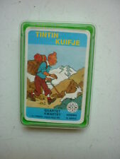HERGE / TINTIN  / JEUX DE CARTE  HEMMA / LOMBARD  1984