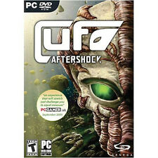 UFO Aftershock PC GAME (DVD-ROM) SEALED NEW