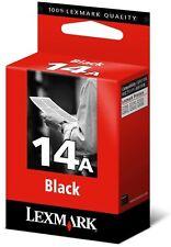CARTOUCHE LEXMARK 14A NOIR /18c2080e  15 a 18c2090 noire rechargeable recyclable