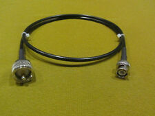 3 ft Shireen RFC-195, Pigtail Coaxial Cable BNC Male to UHF PL-259 Male.