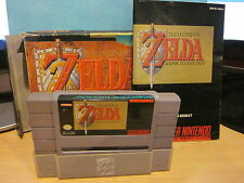 Super Nintendo SNES The Legend of Zelda A Link To The Past Video Game