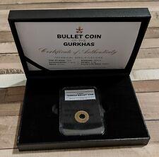 1955 Authenic Bullet Coin of the Gurkhas 4 Paisa Coin Nepal 🎖️🇳🇵