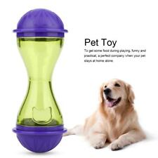 Pet Dog Cat Food Feeder Dispenser Dog Toys Ball IQ Smart Doggie Interactive Kid