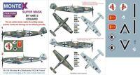 Montex Super Mask 1:32 Bf-109 E-3 for Eduard Kit #5 Spraying Stencil #K32321