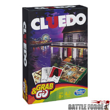 Hasbro Family Gaming Grab And Go Cluedo Travel Game Hasbro