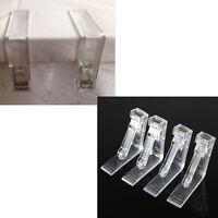 4x Kunststoff Tischdecken Tischbezug Halter Rock Clips Clamp Griffe Party  X