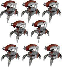Lego Star Wars LOT ★ 8X Minifigs DROIDEKA neuf (75092)