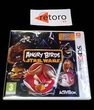 ANGRY BIRDS STAR WARS Activision Nintendo 3DS PAL Castellano NUEVO Precintado