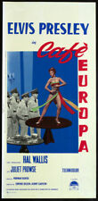 CINEMA-locandina CAFè EUROPA elvis presley, prowse, TAUROG