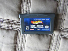 Hot whells stunt track game boy advance