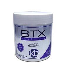 HAIR BTOX FOR BLOND HAIR  BTX PLATINUM MACADAMIA  500g 17oz