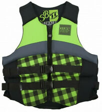 JETPILOT Shane BONIFAY Signature Life Vest GREEN/Black Large LG/XLJP16236-BLK-LG