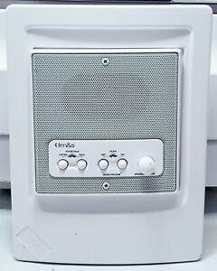 M&S DMC4RS with FR Adapter Frame White Intercom Room Station DMCFR Remote Scan
