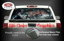 Dragon Warrior Rear Window Graphic Decal Truck Van Car