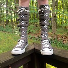 Converse All Star Chuck Taylor Knee High Lace Up Sneakers Women's Sz. 10