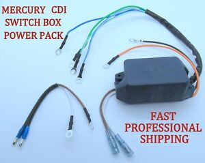 Mercury 339-6222 A1 A4 A8 A10 Outboard Switch Box CDI Power Pack 4 7.5 9.8 20 HP