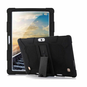 "Universal Shockproof Slim Silicone Stand Case Cover For 10.1"" Android Tablet PC"