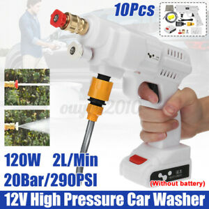 12V 120W High Pressure Car Washer Washing Machine Electric Cleaner Spray Gun