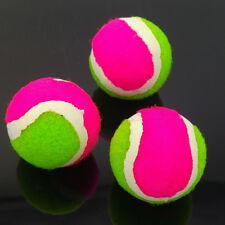 3x Mini Tennisball Ersatzbälle für Klettscheibe Klettspiel Ball Wurfscheibe