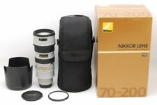 Nikon Nikkor AF-S 70-200mm F2.8G,ED VR,Light Gray,From Japan,Excellent+++,TK1053
