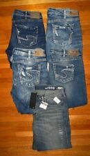 SILVER JEANS BRAND GAP Womens Plus Size size 34 Denim Capris Lot NWT EUC