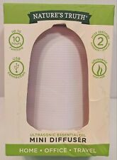 Natures Truth - Ultrasonic Essential Oil Mini Diffuser for Home or Office