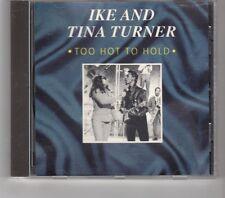 (HK495) Ike & Tina Turner, Too Hot To Hold - 1992 CD
