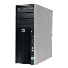 HP Z400 Desktop Workstation Quad-Core Xeon 24GB Ram 160GB SSD 2TB HDD NVIDIA