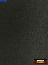 "M01289 MOREZMORE Self Adhesive Felt BLACK Sticky Back Peel Stick It 9x12"""