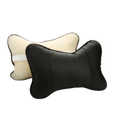 2Pcs Car Seat Head Neck Rest Cushion Chair Support Pillow Back Headrest USA R51