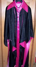 Vintage Hand Made 3pc Maleficent Sleeping Beauty Lined Satin Costume Adult Large