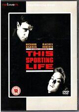 This Sporting Life -DVD -Richard Harris & Rachel Roberts (1963 Drama Film)