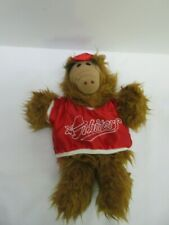 """Vintage ALF hand puppet in """"Orbiters"""" baseball outfit (Burger King) 1988"""