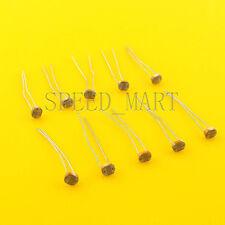 10 pcs Photoresistor LDR CDS 5mm Light-Dependent Resistor Sensor GL5516 Arduino