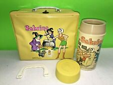 1972 - ALADDIN - ARCHIE - SABRINA THE TEENAGE WITCH - VINYL LUNCHBOX - LQQK!!