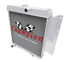 3 Row SZ Champion Radiator for 1968 - 1969 Dodge D100 Pickup V8 Engine