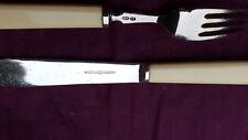 Mappin & Webb cubiertos-Ivorina-Peces cuchillo Y Tenedor conjunto de 12 Rollo en M&W