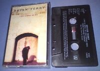 BRYAN FERRY I PUT A SPELL ON YOU cassette tape single