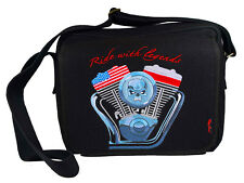 Bag embroidery embroidered RIDE WITH LEGENDS