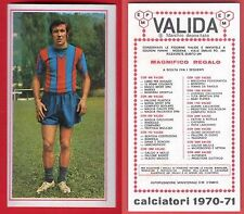 FIGURINA CALCIATORI PANINI 1970/71 - NUOVA - BONFANTI - CATANIA