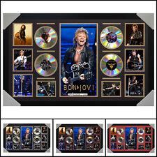 Bon Jovi 4 CD Signed Framed Memorabilia LTD - Large - Multiple Variations - V1
