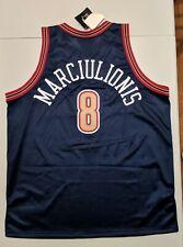 SARUNAS MARCIULIONIS Starter DENVER NUGGETS AUTHENTIC Jersey 52 NBA Warriors NWT