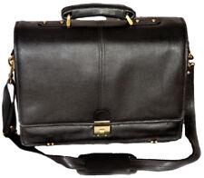 Laptop Messenger Bag 100/% Genuine Leather PE 16 inch RBS009BL