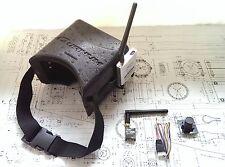 Lunettes quanum avec 8ch récepteur, émetteur & caméra emballage prêt pour fpv UK
