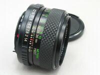 Porst 50mm f/1.4 Lens Pentax K PK MC Color Reflex917