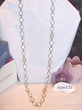 "Beautiful Lia Sophia Kiam Family GOLDEN CRYSTAL Necklace, 36-39"", NWOT"
