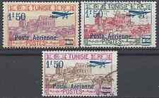 Francia Colonia Tunisia N°10 a N°12 - Nuovo e Timbrati - Valore