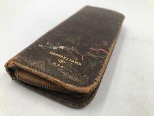 Vintage PENCIL BOX CASE ~ EBERHARD FABER ~ Antique USA ~ VERY RARE!!!