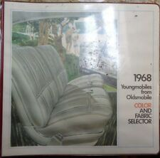 1968 Oldsmobile Color and Upholstery Dealer Album Book