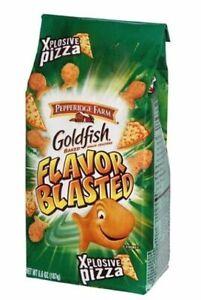 Pepperidge Farm Flavor Blasted Xplosive Pizza Goldfish Baked Snack Crackers